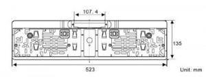 Rückfahrkamera Kennzeichen YMPA RFK-NSK Test